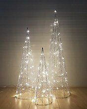 3-Teilig Led Dekorative Weihnachtsbeleuchtung