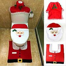 3 Teilige Weihnachts Dekoration Xmas Bad