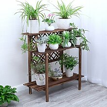 3 Tier Leiter Blume/Pflanzen Racks/Regal aus Holz