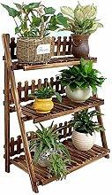 3 Tier Leiter Blumen / Pflanzenständer / Regal