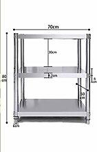 3 Tier Mikrowelle Rack Küchenregal 304 Edelstahl