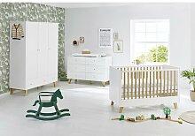 3-tlg. Babyzimmer-Set Pan Pinolino Größe
