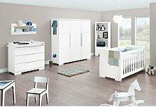 3-tlg. Babyzimmer-Set Polar Pinolino Größe