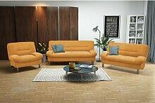 3-tlg. Couchgarnitur Brombert