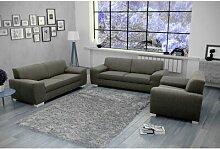 3-tlg. Couchgarnitur Dieppe