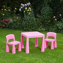 3-tlg. Kinder Tisch und Stuhl-Set Conard