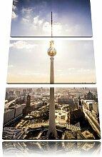 "3-tlg. Leinwandbilder-Set ""Berlin City"