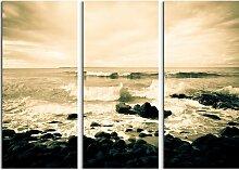 3-tlg. Leinwandbilder-Set Noosa Küste, Australien