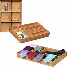 3 tlg. Schubladenorganizer Set, Schubladeneinsatz,