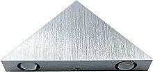 3W Aluminium-Dreieck geführt Wandleuchte, gzqes, AC85–265V High Power Beleuchtung Innen-, Moderne und Dekoration des Hauses gelb