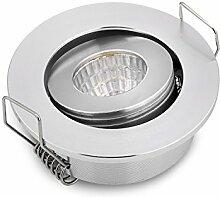 3W Kleine LED-Downlights verstellbares Mini COB