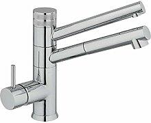3-Wege-Armatur CUCINA IDEALE chrom für AMWAY eSpring Wasserfilter geeignet!