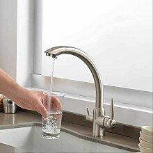 3-Wege-Küchenarmatur Dual Holder Dual Hole Filter