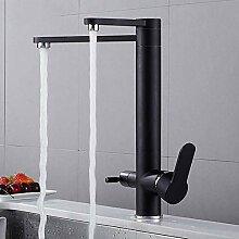 3-Wege Küchenarmatur Wasserfilter 360° drehbar