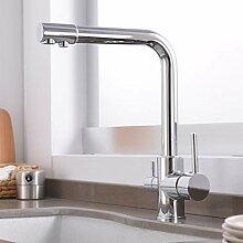 3-Wege-Wasserfilter-Wasserhahn, Küchenarmatur,