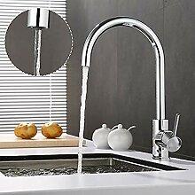 3-Wege-Wasserhahn für Küchenwasserfilter mit