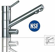 3-Wege-Wasserhahn SATURN, Chrom für AMWAY eSpring Wasserfilter geeignet ! Küchenarmatur , Spültischarmatur , Mischbatterie , Dreiwege Wasserhahn