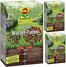 3 x 700 g COMPO AGROSIL Wurzel-Turbo Eisendünger