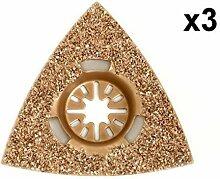 3x Antler 78mm Hartmetall-Raspeln fein
