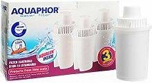 3 x Aquahor Wasserfilter Wechselkartusche ersetzt Brita® Dafi®, Laica®. Neue Generation der Filterkartuschen – Kannenfilter Aquaphor mit AQUALEN® Filtertechnologie Filter Hochleistungs-Wasserfilter (Classic B100 - 15)