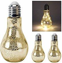 3 x Glühbirne Lampe Leuchte Gartenlampe
