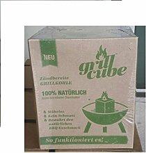 3 x Grillcubes in 10-15min grillbereit keine Anzünder erforderlich Einweggrill Ökoeinweggrill
