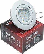 3 x LED Einbaustrahler Bajo in Weiß 230V inkl.