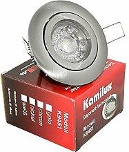 3 x Power LED Einbaustrahler Bajo 230V 5Watt in
