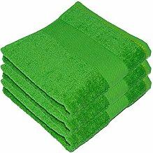 3 x Premium Handtuch 50 x 100 cm Bad Badezimmer