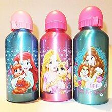 3 x Trinkflaschen Geschenkidee Aluminium Disney Prinzessin beste Freundin 600 ml