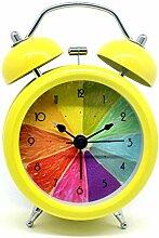 3 Zoll Nacht Wecker Zitrone Cute Home Twin Glocke