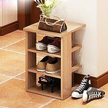 30 * 30 * 53.4 CmShoe Rack Mehrere Schichten Economy Regal Home Assembly Staubdicht Eingebautes Regal Einfache Moderne Lagerung Rack ( Farbe : #1 )