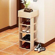 30 * 30 * 91.2 Cm Schuh-Rack Mehrere Ebenen Economy Shelf Home Assembly Staubdichtes Incorporated Regal Einfache Moderne Storage Rack ( Farbe : #3 )