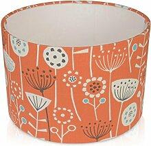 30,5cm Bergen orange Tisch Lampenschirm