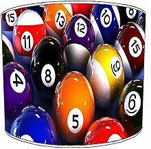 30,5cm Decke billiard, pool, snooker, 8 ball Childrens Lampenschirme 9