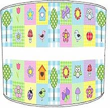 30,5cm Decke patchwork floral childrens lamp shades