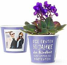 30.Geburtstag Geschenk - Blumentopf (ø16cm) |