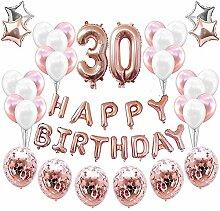30. Geburtstagsdeko Banner Ballon,Geburtstagsparty