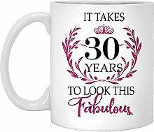 30. Geburtstagsgeschenk Für Frauen-Es Dauert 30