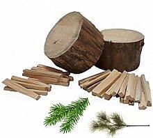 30 kg Anzündholz FRISCH Brennholz Kaminholz