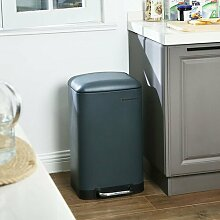 30 L Müll- & Abfalleimer mit Fußpedal