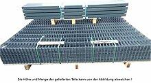 30 Meter Doppelstabmattenzaun Zaunanlage