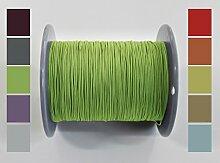 30 meter Plisseeschnur 0.8mm Grün | Schnur Spannschnur für Plissees Rollos Jalousien | 15 FARBEN!!