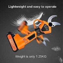 30 MM Akku-Rebschere Elektrische Gartenschere 21V
