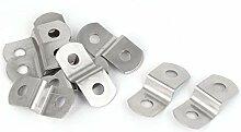 30 mm x 13 mm x 7 mm Metall Z Form Bilderrahmen