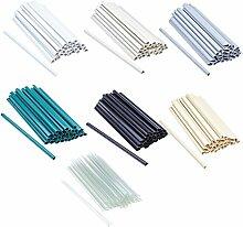 30 Stück Befestigungsclips für PVC Sichtschutz-Streifen, Clip, Sichtschutz, Befestigung (Grün)