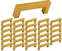 30 Stück Goldenwarm Kommoden Griff Rustikale