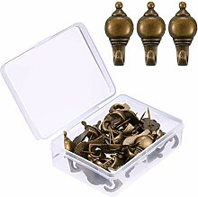 30 Stück Pin-Haken Push Pin Aufhänger, 9 kg Push