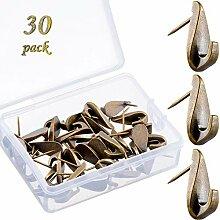 30 Stück Pin-Haken Push Pin Aufhänger 9 kg