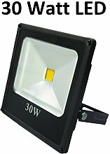 30 Watt LED Außenstrahler, Flutlicht, 120°